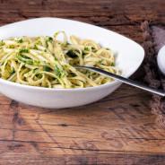 Linguine an Bärlauch – Pesto