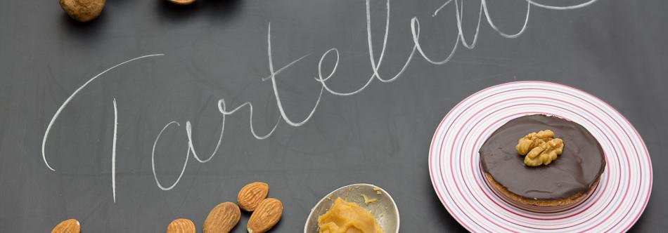 Tartelettes Caramel Beurre Salé à la Ganache tout Chocolat