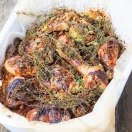 Chicken Teriyaki mit frischem Ingwer und Knoblauch