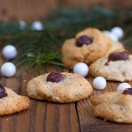 Hazelnut and Vanilla Drop Cookies