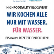 Blog Event : Wir kochen alle nur mit Wasser …